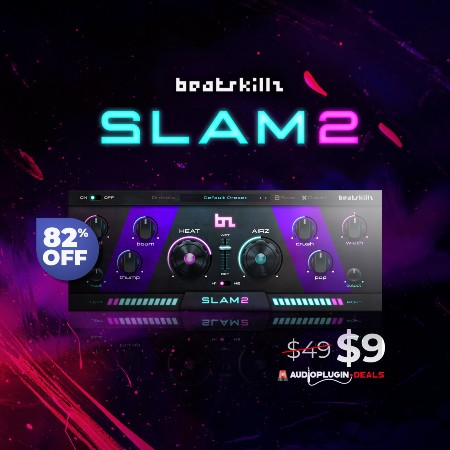SLAM2 (VST3, AU, AAX) by Beatskillz
