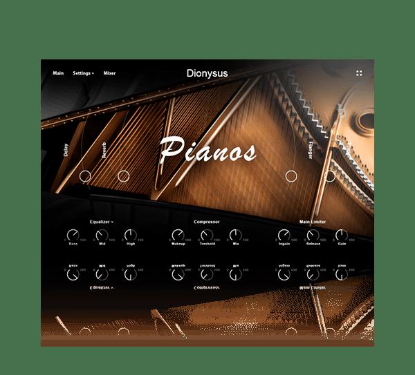 DIONYSUS ACOUSTIC PIANO