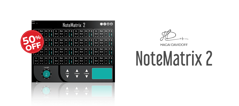 NoteMatrix 2 by HD Instruments
