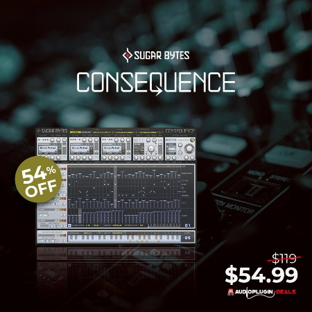 CONSEQUENCE (AAX, AU, VST2) by Sugar Bytes