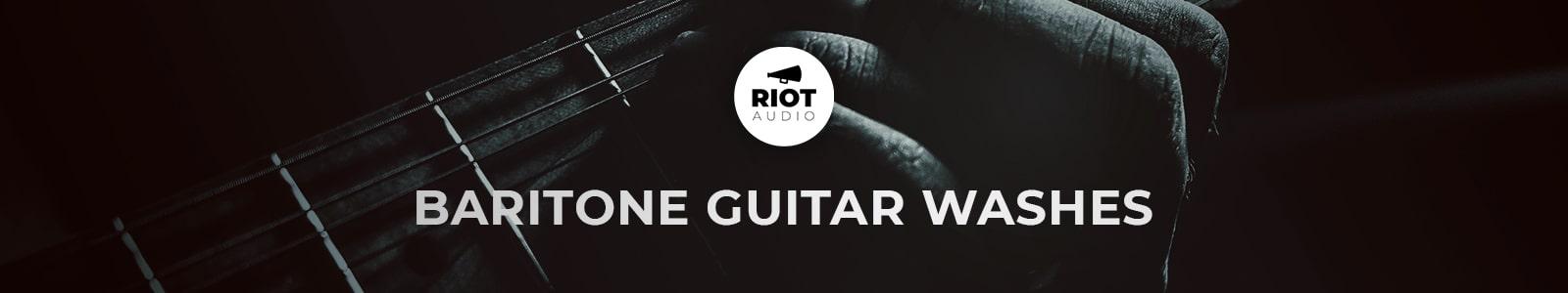baritone guitar washes