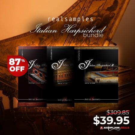Italian Harpsichord Bundle by REALSAMPLES