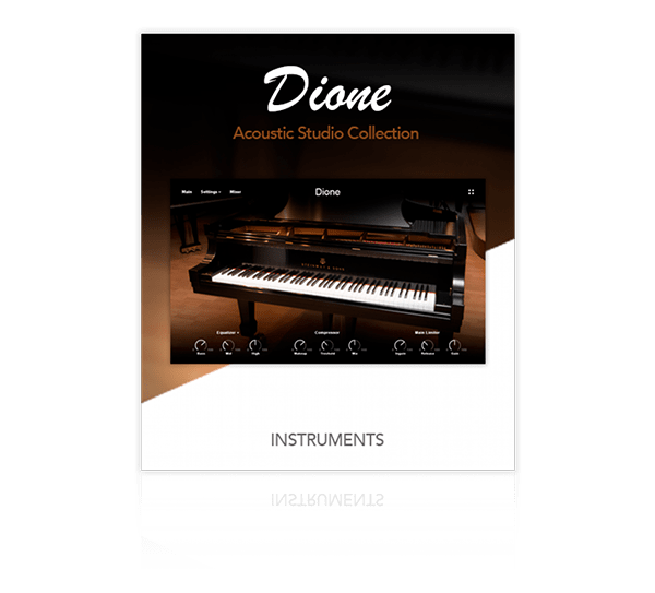 Dione Acoustic Piano by MUZE