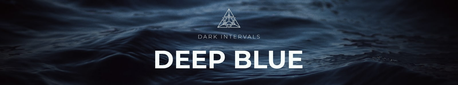 deep blue by dark intervals