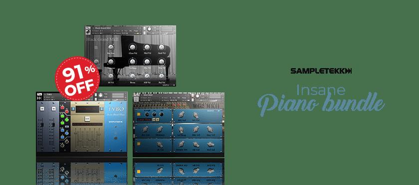 Insane Piano Bundle by Sampletekk
