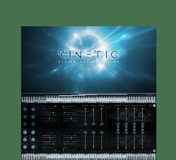Kinetic String Motion Engine by Kirk Hunter Studios
