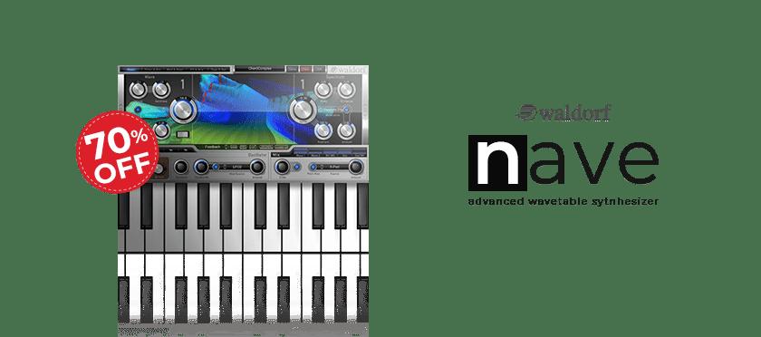 Nave (VST, AU, AAX) by Waldorf Music