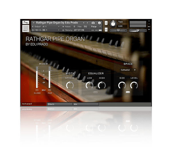 Rathgar Pipe Organ by Edu Prado Sounds