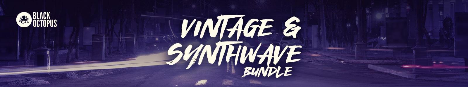 Vintage & Synthwave Bundle