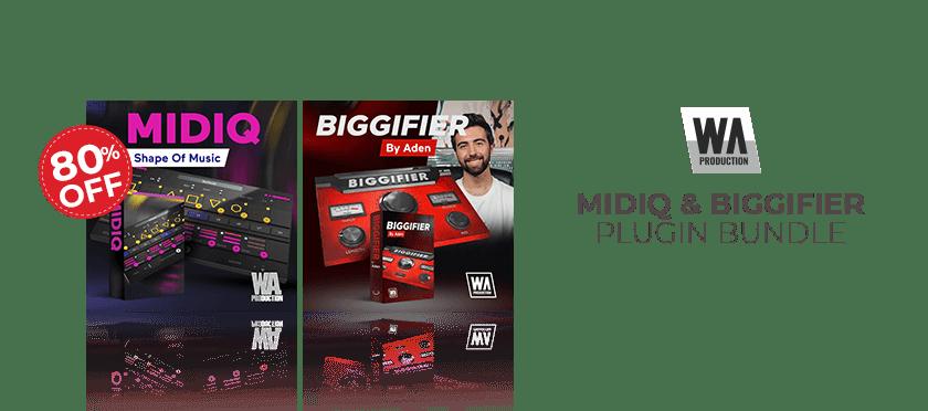 MIDIQ + Biggifier Bundle by WA Production