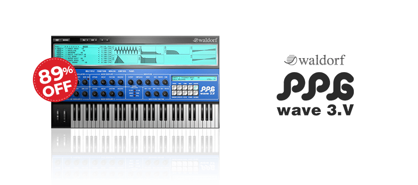 PPG Wave 3.V by Waldorf