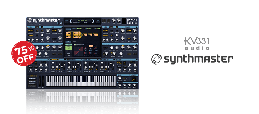 Synthmaster One by KV331 Audio