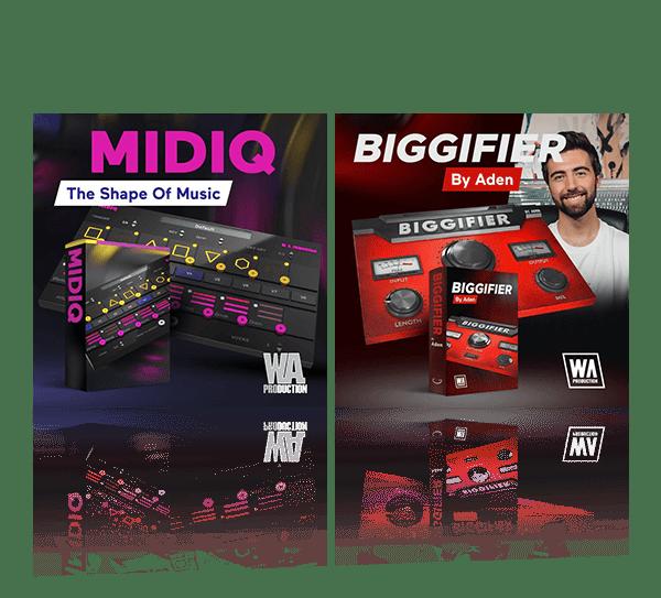 Midiq & Biggifier Bundle by W.A. Production