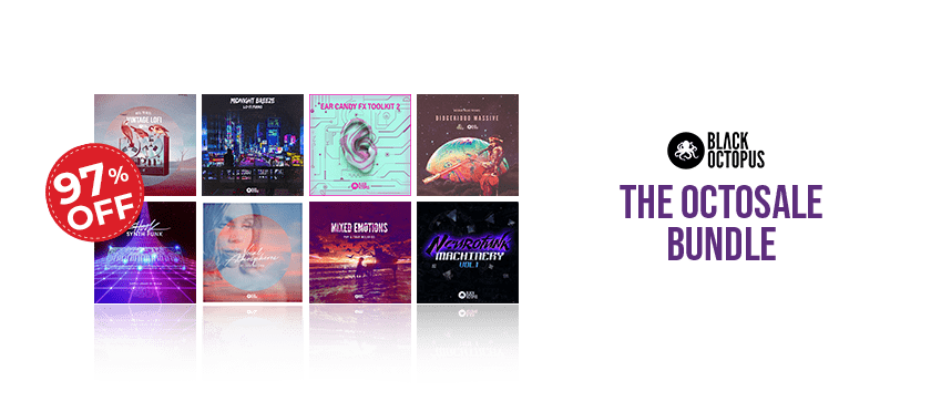The Octosale Bundle by Black Octopus Sound