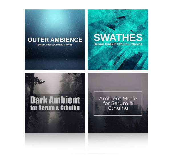 Serum & Cthulhu Ambient & Pad Collection by Glitchedtones
