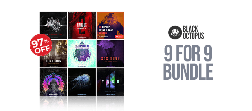 9 for 9 Bundle by Black Octopus Sound
